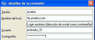Configurar FTP